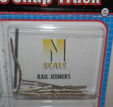 Atlas N Scale Code 80 Snap-Track Rail Joiners (48 pieces) #2535 NIP