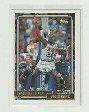 1992-93 Topps GOLD Shaquille O'Neal ROOKIE #362 Orlando Magic RC #362