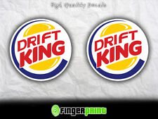 DRIFT KING jdm decal sticker vinyl nissan sx ae86 stance illest low turbo toyota