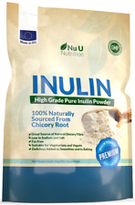 Inulin Prebiotic Fibre Powder 1kg from all Natural Chicory 100% Guarantee