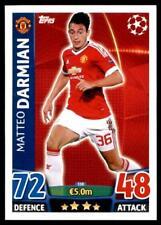 Match Attax Champions League 15/16 Matteo Darmian Manchester United FC No. 330