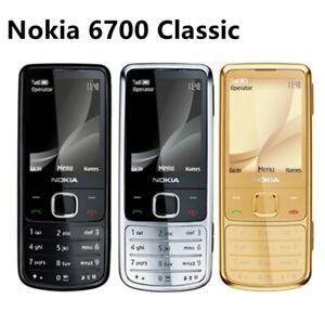 Original Unlocked Nokia 6700 Classic 3 colors 5MP Camera 3G GSM Smartphone