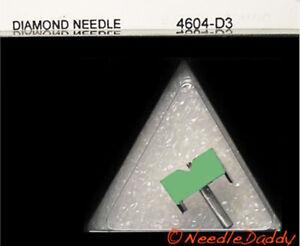 78 RPM ONLY Stylus Needle for STANTON D5127/5107 STANTON 500 SERIES 820-D3 604D3