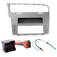 CARAV 11-469-25-8 Auto Radioblende Einbauset für VW Golf 7 2012+ Ablagefach DIN