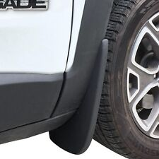Jeep Renegade Mud Flaps 2015-2018 Guards Splash Shield Molded 2 Piece L/R Front