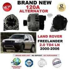 FOR LAND ROVER FREELANDER 2.0 TD4 LN 2000-2006 NEW 120A ALTERNATOR EO QUALITY