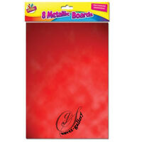 A4 HOLOGRAPHIC / METALIC CARD MAKING SCRAPBOOKING ART CRAFT PAPER