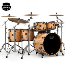 NEW Mapex SATURN V Exotic Edition SV628XUBMXN Drum Shell Pack Natural Maple