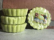 Yankee Candle Margarita Time - Tart Wax Melts Lot Of 4