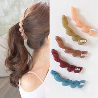 KQ_ FT- EP_ Banana Style Hair Clip Ponytail Girl Women Hairpin Headwear Accessor