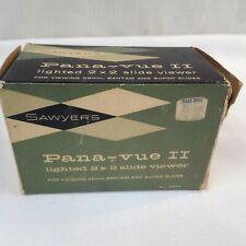 Sawyers Pana-Vue II Lighted 2 x 2 Slide Viewer