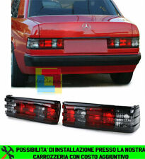 FARI POSTERIORI MERCEDES 190 W201 1982-1993 ROSSO FUME LOOK