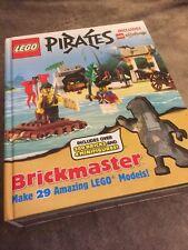 LEGO PIRATES & CASTLE BRICK MASTER BOOK (MAKE 29 MODELS) INCOMPLETE