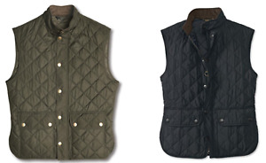 NEW BARBOUR LOWERDALE GILET INSULATED QUILTED VEST NAVY SAGE MEN FREE SHIP S-XXL