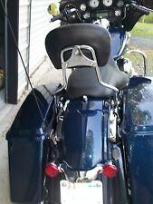Detachables Sissy Bar Passenger Backrest For Harley Davidson Electra Glide 2009+