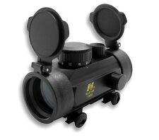 NCSTAR Aluminum Airsoft 1x30 B-Style Red Dot Sight 30mm Weaver Mount DBB130
