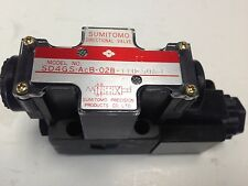 NEW SUMITOMO SD4GS-ACB-02B-110-50A-L DIRECTIONAL SOLENOID VALVE DI