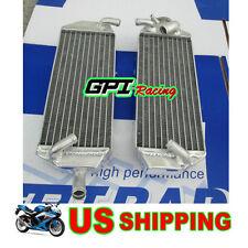 Aluminum radiator FOR Suzuki RM 250 RM250 2-stroke 1996 1997 1998 96 97 98