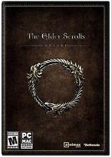 New! The Elder Scrolls Online (PC/MAC DVD-ROM, 2014) - U.S. Retail Version!