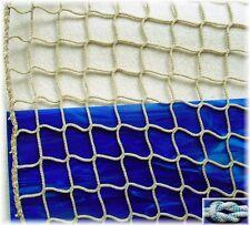 Schutznetz, Dekonetz, Kinderschutznetz 1 Meter breit, hanffarben, 45 mm - 3 mm