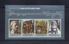 GREAT BRITAIN  2008 BRITISH ROYALTY/ LANCASTER and YORK souv sheet Sc 2555 MNH