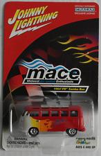 """Johnny Lightning – furgoneta VW t1 samba rojo con llamas """"mace"""" nuevo/en el embalaje original"""