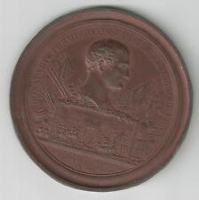 France.  Napoleon Bonaparte  Medal    Battle of Marengo.  Copper Gilt  63 mm.