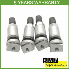 4x Tyre Pressure Sensor Valve Stem Replacement Kit For Jeep Volvo Ford Chrysler