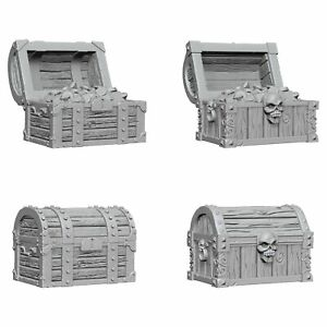 WizKids Unpainted Miniatures (W2) - Chests