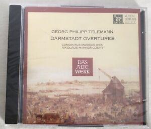 Georg Philipp Telemann - Telemann: Darmstadt Overtures - 2 CD CRACKED CASE