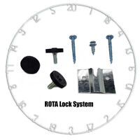 Winmau Dartboard Ring, High Visibilty Numbers with Rota Lock System