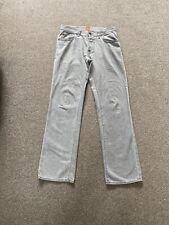 Men's Gents Grey Hugo Boss Soft Jeans 32/32