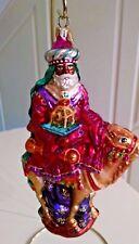 "Christopher Radko Ornament ""BALTHAZAR on Camel carrying Frankincense"