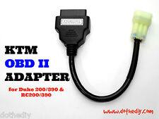 KTM OBDII OBD2 adapter for Duke 200/250/390 & RC200/390