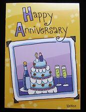 Oatmeal Studios Greeting Card Anniversary Humor Funny Love Multi Color R322