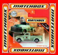 MATCHBOX 2020   ´47 CHEVY AD 3100   96/100   NEU&OVP