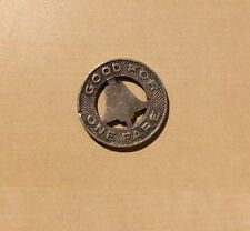 Los Angeles Railway Good For One Fare - Transit Token