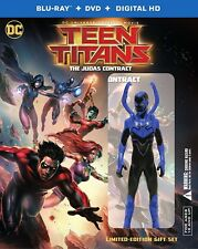 Teen Titans: The Judas Contract (Blu-ray Disc, 2017, 2-Disc, Deluxe Edition) NEW
