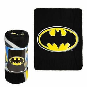 DC Comics Licensed Batman Emblem Dark Knight Soft Fleece Throw Blanket