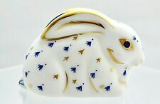 ROYAL CROWN DERBY *BABY RABBIT* PAPERWEIGHT '1ST' QUALITY + ORIGINAL BOX