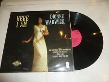 DIONNE WARWICK - Here I Am - 1966 UK 12-track mono Vinyl LP