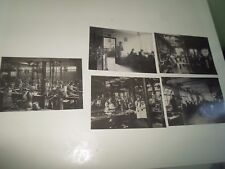 5 x Repro Photo Postcards HOUSE OF HARDY MUSEUM Alnwick Fishing Nostalgia §R121