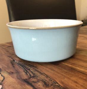 Denby Colonial Blue Souffle Dish