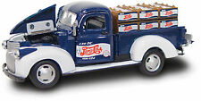 GEARBOX TOYS: PEPSI-COLA 1941 CHEVY PICKUP w/CRATES 1:43 SCALE DIECAST