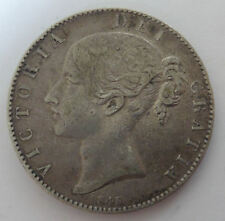 Queen Victoria CROWN 1845 cinq. nVF / aVF - silver coin - 956