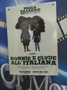 BONNIE E CLYDE ALL'ITALIANA Paolo VILLAGGIO *ed.da collezione*dvd
