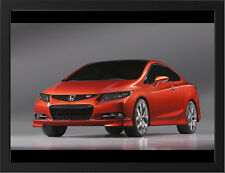 "2011 HONDA CIVIC SI CONCEPT A3 FRAMED PHOTOGRAPHIC PRINT 15.7""x11.8"""