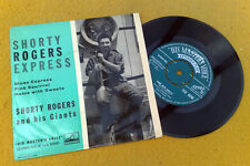 "SHORTY ROGERS & HIS GIANTS "" EXPRESS  ""RARE SUPERB UK ORIG EMBOSSED SAMPLE EP"