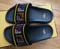 FENDI Logo Sandals 8X6638 A16B Tulle Fun Fair 2 Righin 36 $700