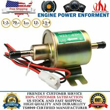 Universal Gas Diesel fuel pump Inline Low Pressure electric fuel pump 12V HEP02A